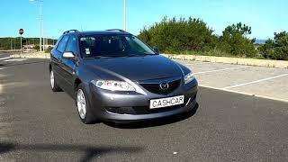 Vista lado direito Mazda 6