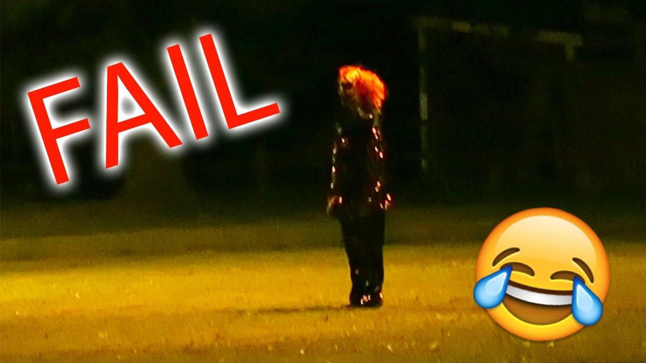 killer clown sighting prank fail (cops show up) - youtube
