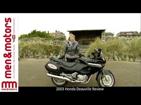 2003 Honda Deauville Review