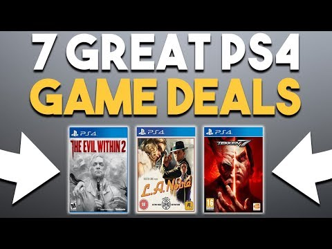 7 Great PS4 Game Deals Available to Buy RIGHT NOW!