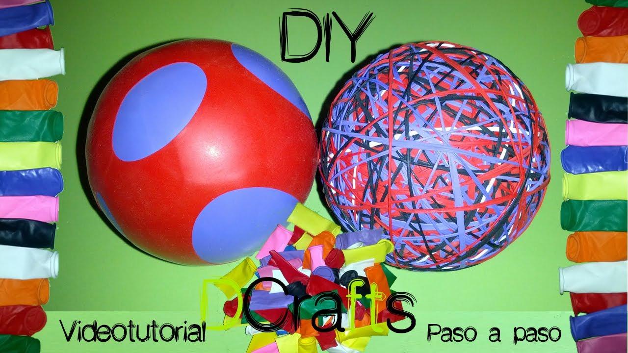 3c778429ff11f Como hacer pelota de globos saltarina que bota youtube jpg 1280x720 Pelota  de ligas