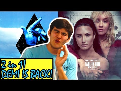 Clean Bandit - Solo (feat. Demi Lovato) Reaction! + Christina Aguilera - Fall In Line Reaction!