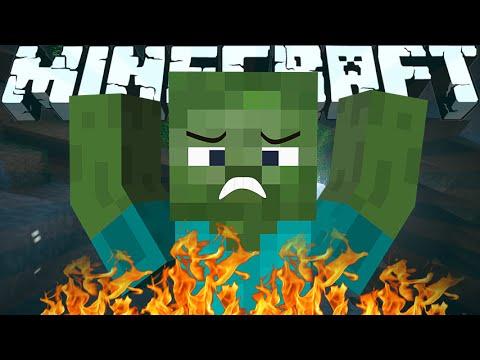 Why Zombies Burn in the Sunlight - Minecraft Machinima