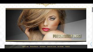 Royal White MyFreeCams profile design - Presentation