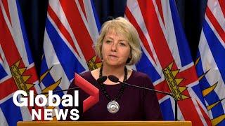 Coronavirus outbreak: B.C. reports 12 new COVID-19 cases, 4 new deaths since Saturday | FULL