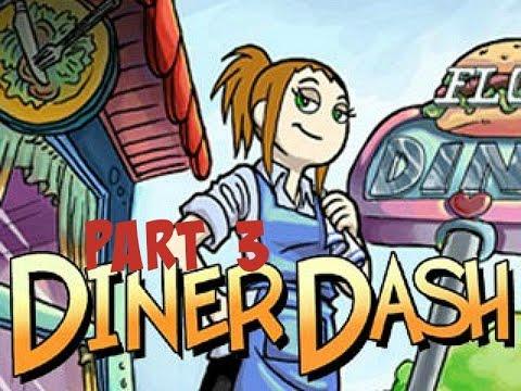 Diner Dash - Gameplay Part 3 (Level 1-7 To 1-8)