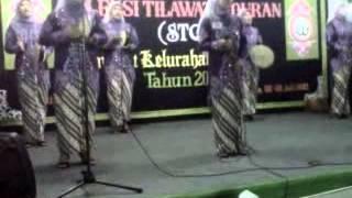 Festival qosidah kelurahan ciganjur. RW05 3 juli 2013