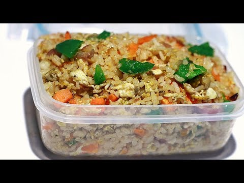 10 Minutes (or Less!)  Simple Fried Rice/ Lunch Box Special  Episode :842