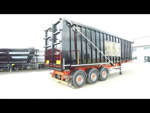 New SDC / Draycott Steel Bodied Tipping / Tipper Trailer For Sale