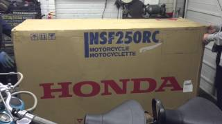 Jack Scott New Honda NSF 250 Moto 3  Race Bike