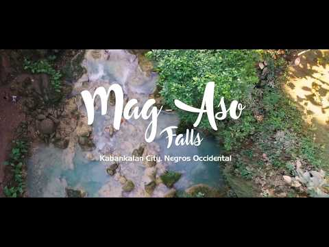 Mag-Aso Falls - Drone Footage, Kabankalan City, Negros Occidental