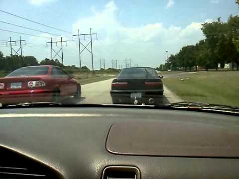 91 Integra b16a vs 99 Civic ex