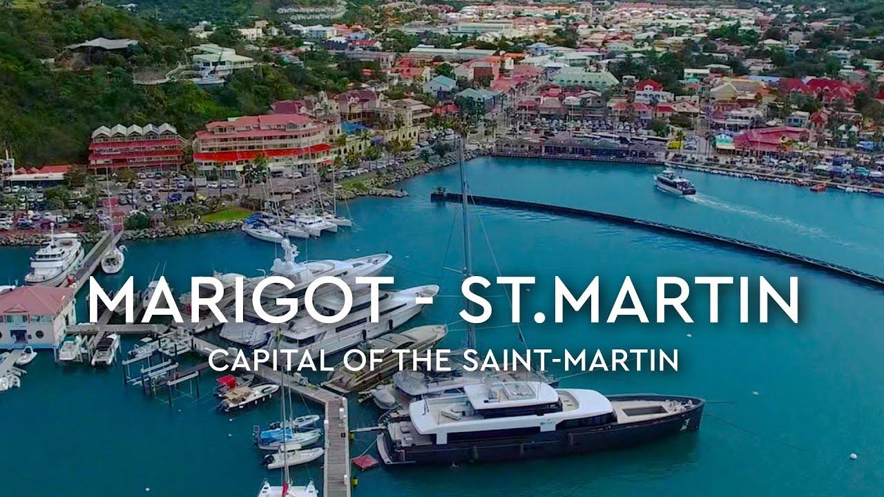 marigot saint martin aerials 4k youtube. Black Bedroom Furniture Sets. Home Design Ideas