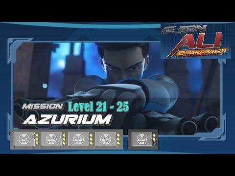 Ejen Ali Emergency : Mission Azurium Level 21-25    Gameplay Walktrough