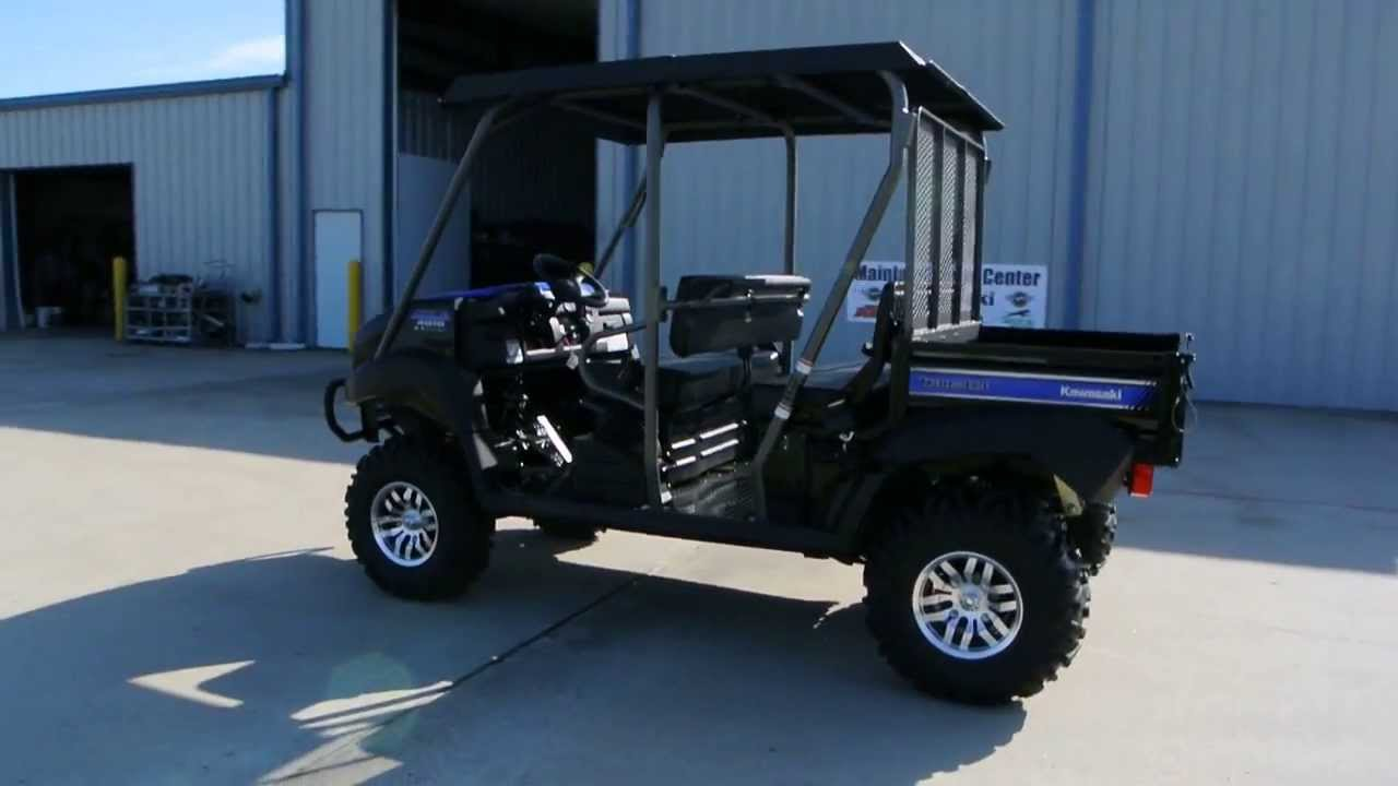 "2014 Kawasaki Mule 4010 Trans with Lift, 26"" Tires, Steel ..."
