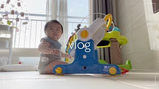 Vlog. 육아브이로그   편의점에서 야식사먹기(cu편…