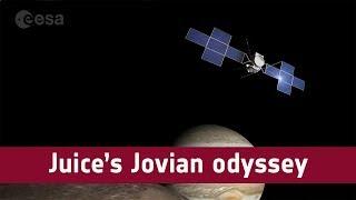 Juice's Jovian odyssey