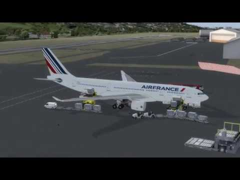 Flight from Libreville to Paris cdg (AIRFRANCE)