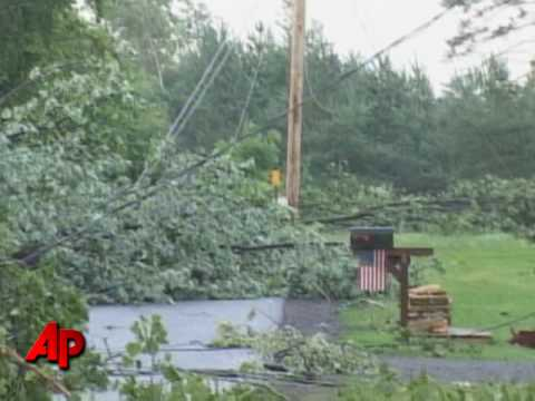 Raw Video: Tornado Hits Western New York