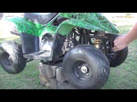 How to Fix Quad Bike and Repair Swing Arm ATV 4Wheeler Quad import
