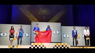 The best players of the Batumi Chess Olympiad 2018
