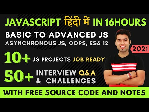 Complete JavaScript Course in 2021 By Thapa Technical