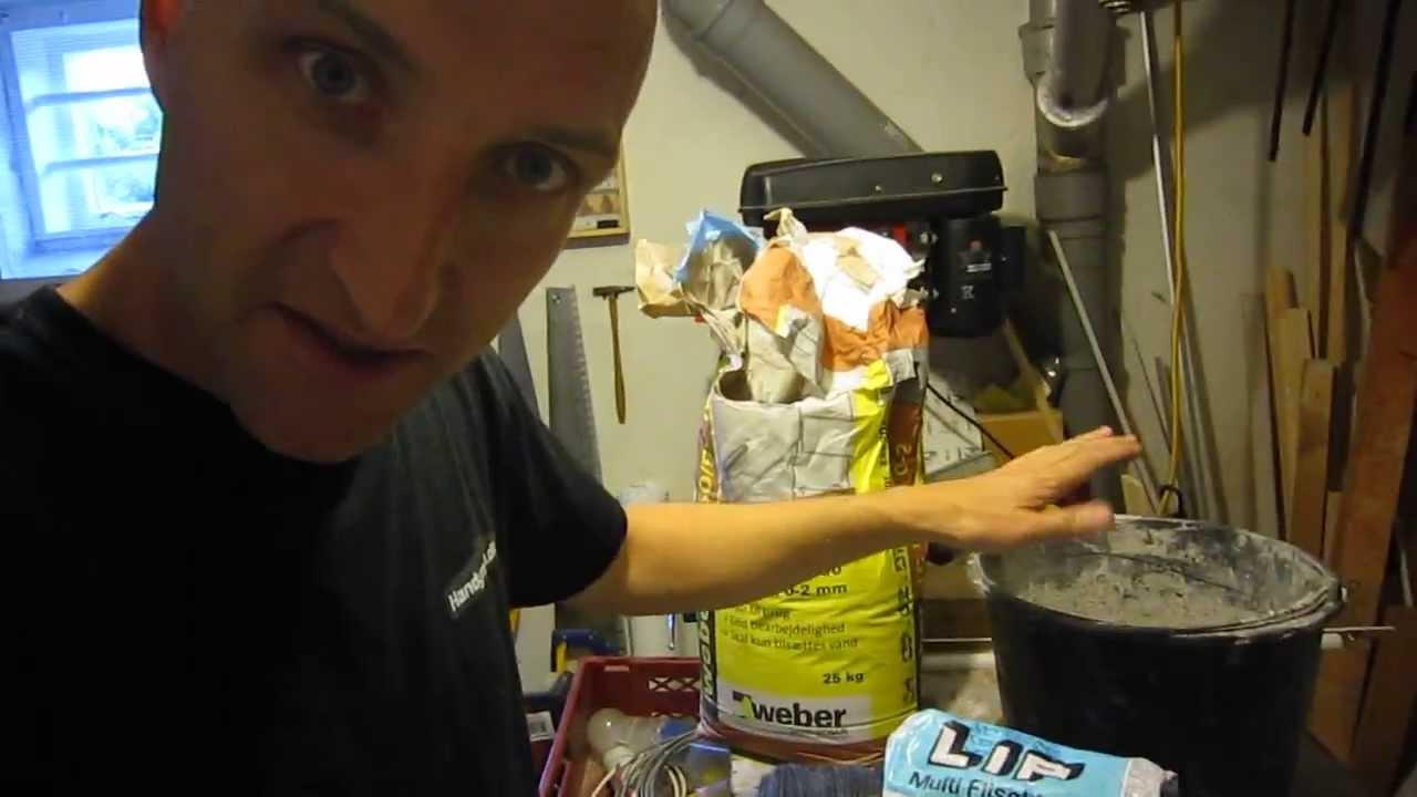 Top Mørtelmix, blanding af mørtel og fugearbejde for begyndere - YouTube TM67