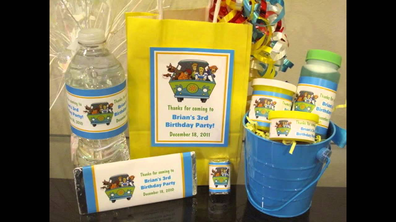 at home Scooby doo theme Party ideas