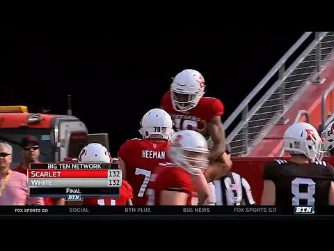 Rutgers Spring Football Highlights