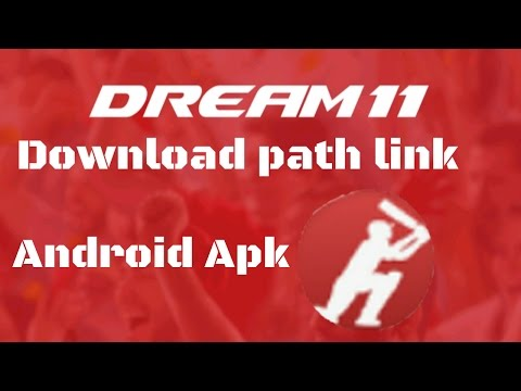 how to download and install dream 11 android app - YouTube