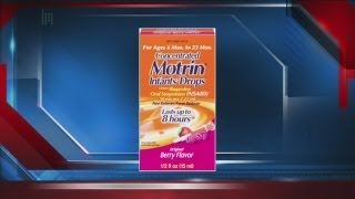 Motrin Infant Drops being recalled