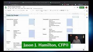كيفية إنشاء ميزانية التقاعد - جيسون جي هاملتون ، CFP®