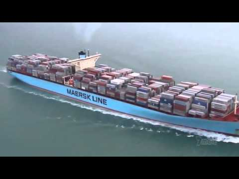 The Biggest SHIP in the World 2015 Documentary HD   Mind Blowing 720p