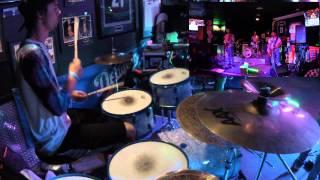 """Cherub Rock"" Jordan Soto Drum Cover GO PRO"