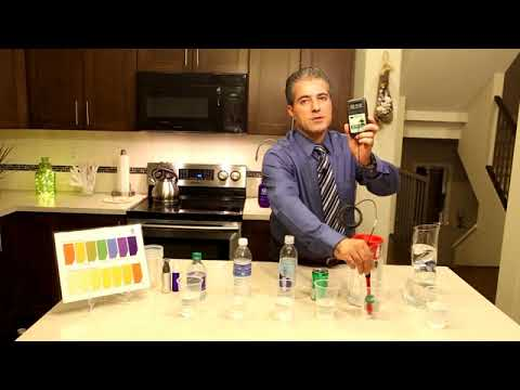 Kangen Water demonstration with Hossein Partavoos (Farsi)