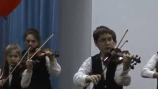 Ансамбль  скрипалів   ДМШ №28   м.Києва    2013