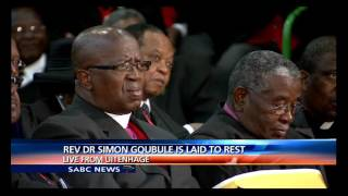 Reverend Dr Simon Gqubule to be laid to rest at Uitenhage