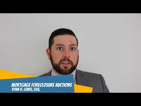 Mortgage foreclosure auctions