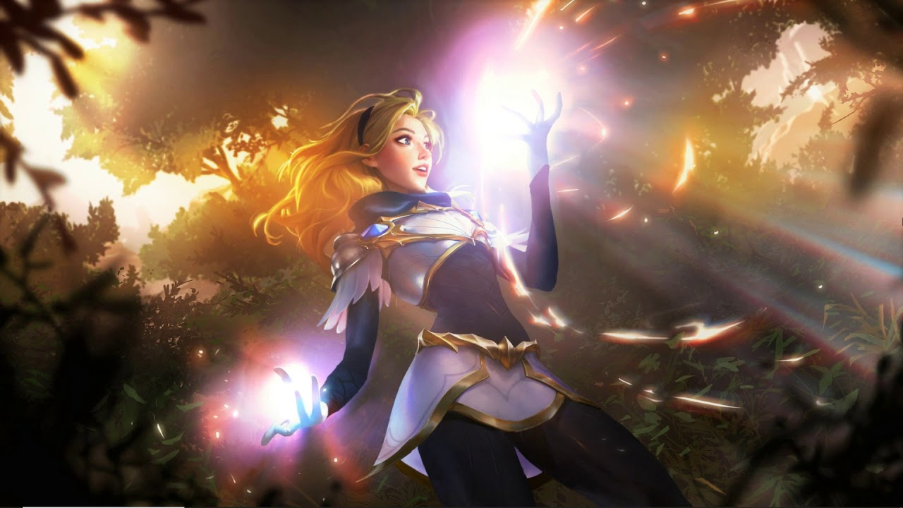 Animated Wallpaper League Of Legends Lux Youtube