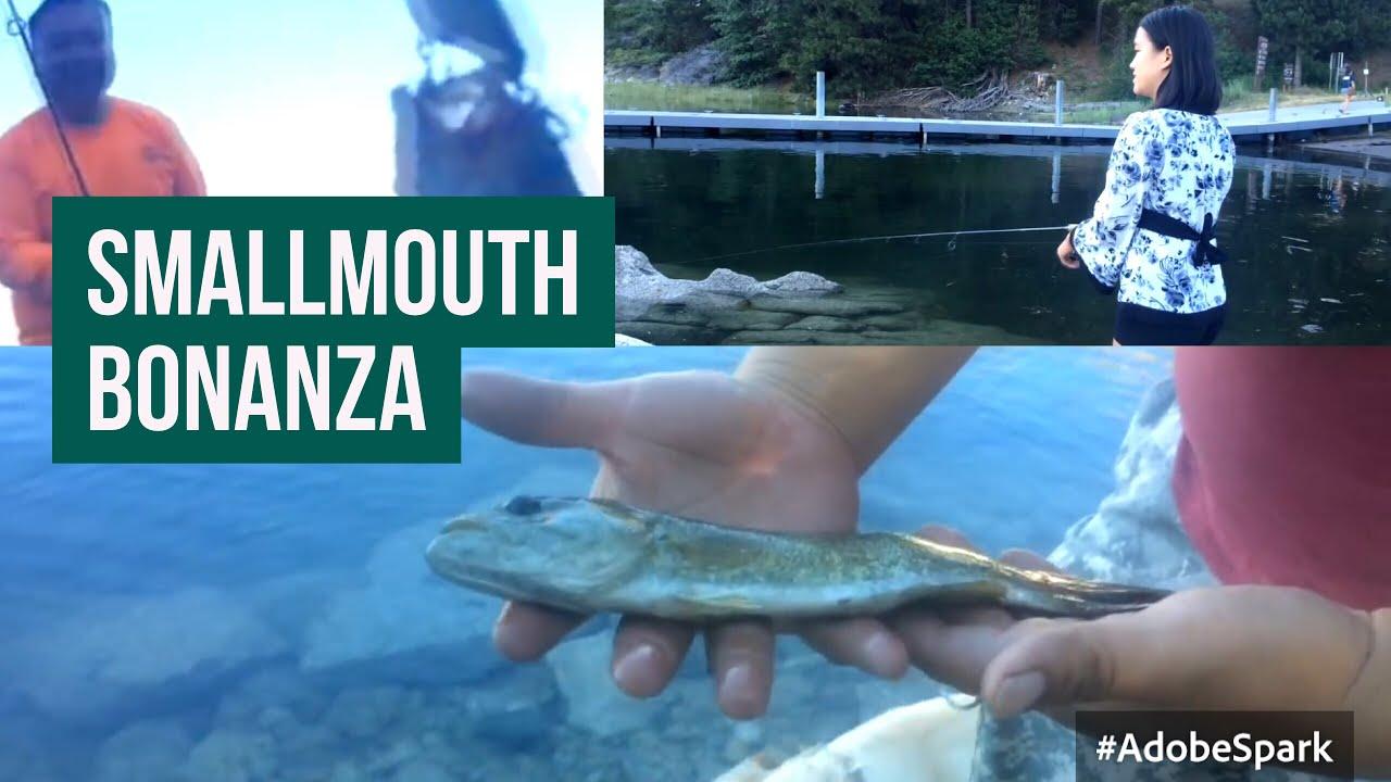 Shaver lake shore fishing youtube for Shaver lake fishing report