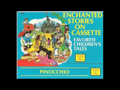 Pinocchio Enchanted Stories on Cassette