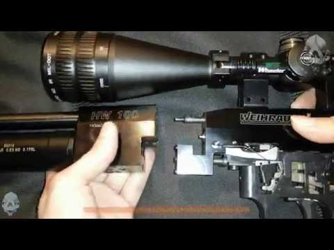 Weihrauch HW100 partial disassembly and...