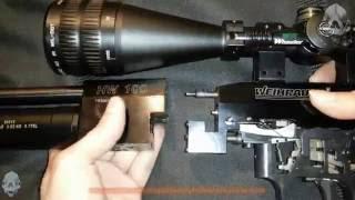 Weihrauch HW100 parsial disassembly dan power adjustment, palu dan regulator