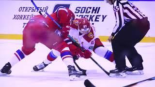 """Sochi Hockey Open 2018. """"Локомотив"""" - Олимпийская сборная России  - 2:3. Вокруг матча"""