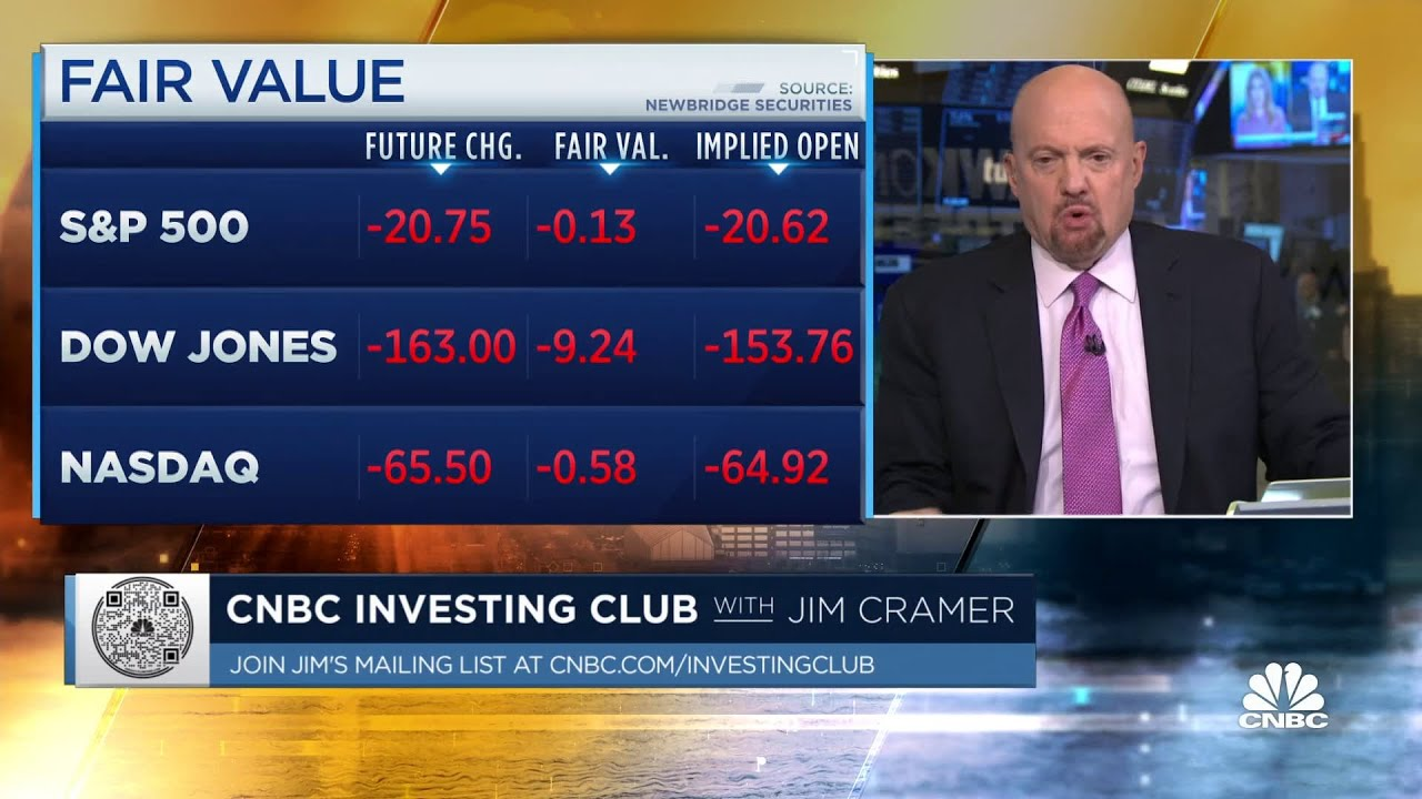 Download Jim Cramer: Labor market continues to be 'tough'