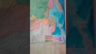 Физическая Карта россии часть#1