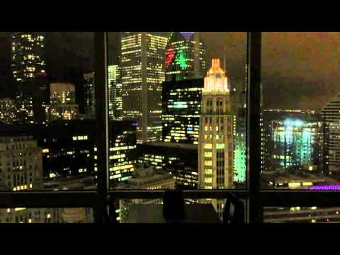 View of Chicago Skyline from Trump International Hotel & Tower, Chicago, IL