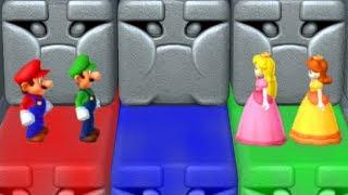 Mario Party 10 - Minigames - Peach vs Luigi vs Mario vs Daisy thumbnail