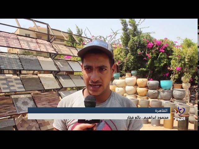 مصر.. تزيين الحدائق.. مبعث للراحة ووسيلة للتخلص من التوتر وضغوط العمل