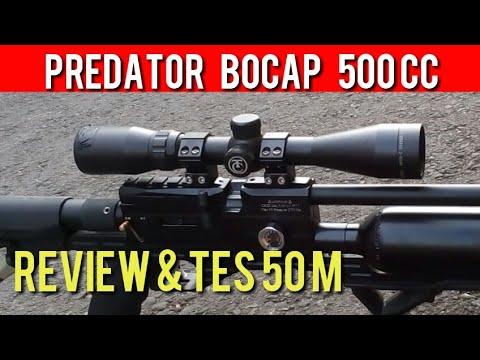 Bocap Predator Tactical 500cc  - Review Dan Tes 50m